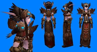 Druid Tier 6 robe making of