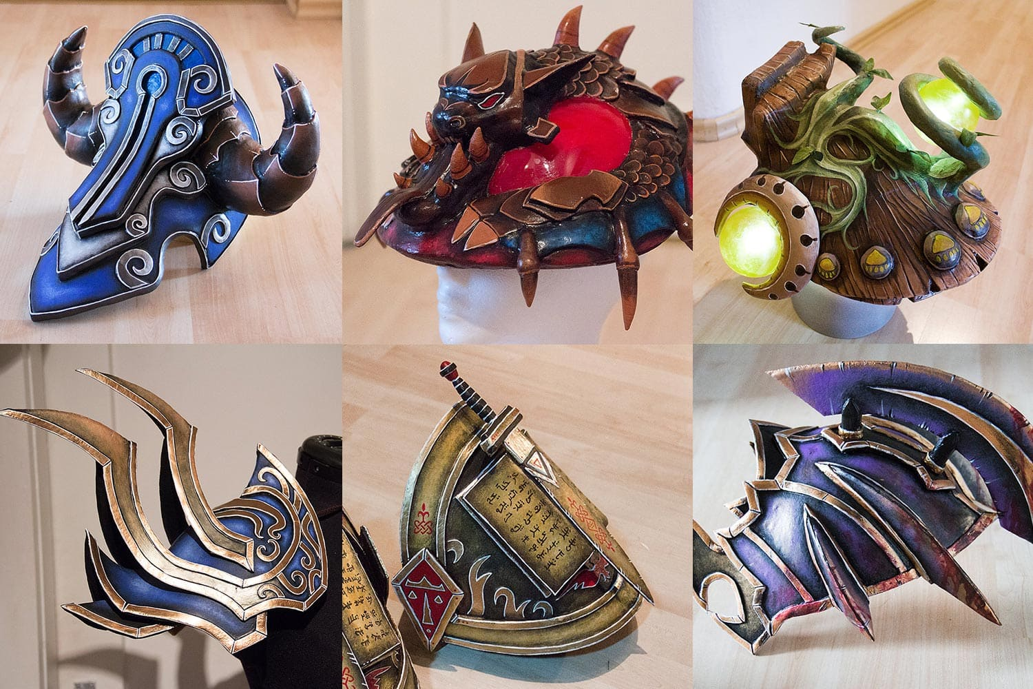 Kamui-Cosplay-Props-Pauldrons-World-of-Warcraft