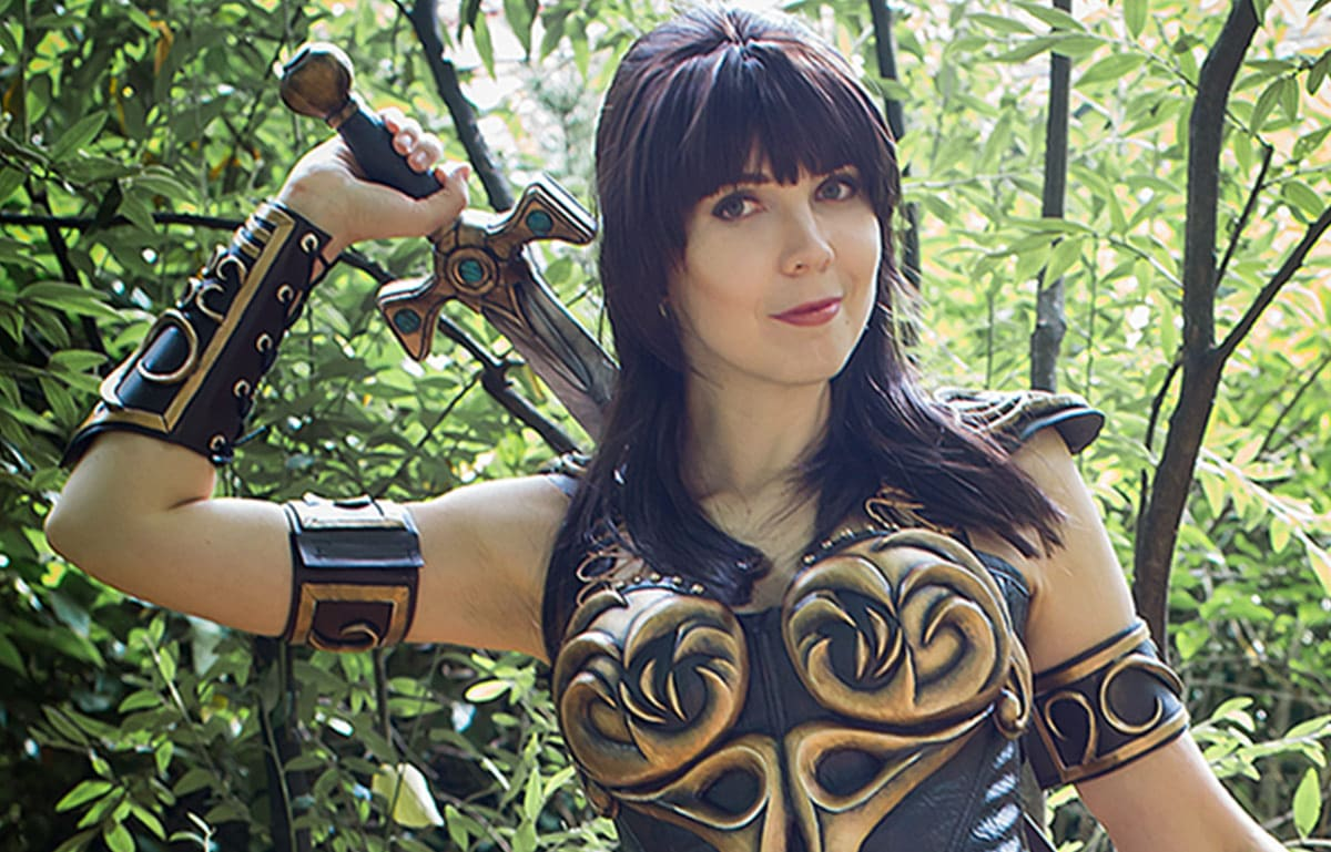 Kamui-Cosplay-Xena-Warrior-Princess-Costume-DIY-Lucy-Lawless