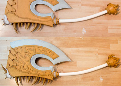 09_WoW_Gorehowl_Kamui_Cosplay_Props