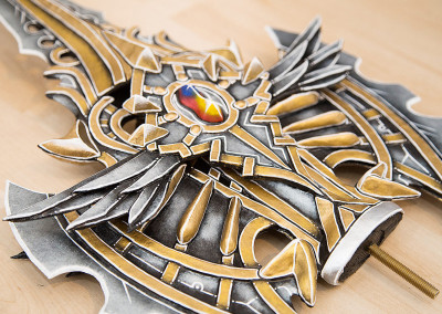 102_Lineage2_Spear_Kamui_Cosplay_Props