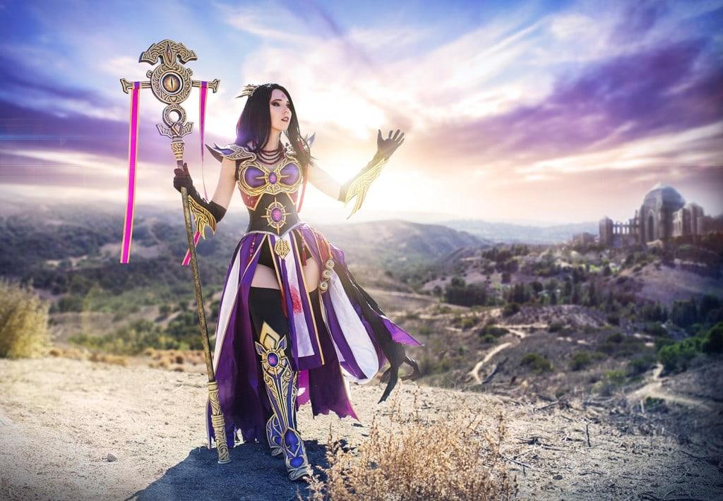 05_Diablo3_Purple_Wizard_Staff_Kamui_Cosply_Props_