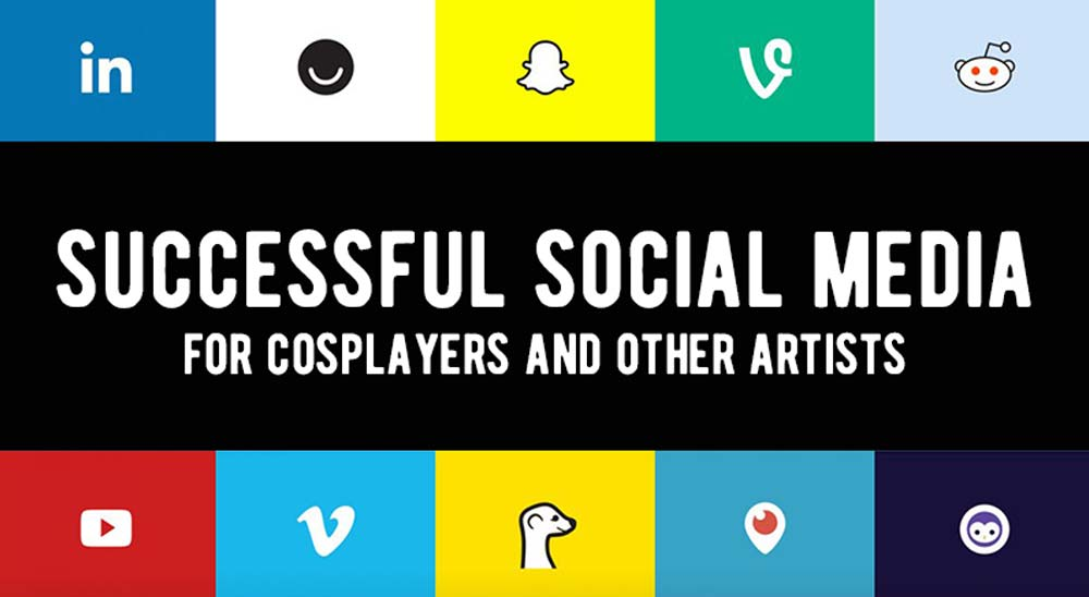 Successful Social Media for Cosplayers