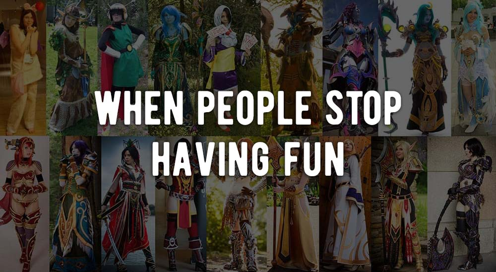 Is cosplay still about having fun?