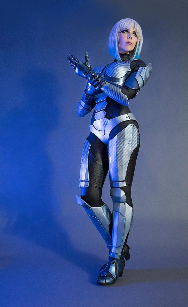 Medion Erazer Girl Cosplay Costume