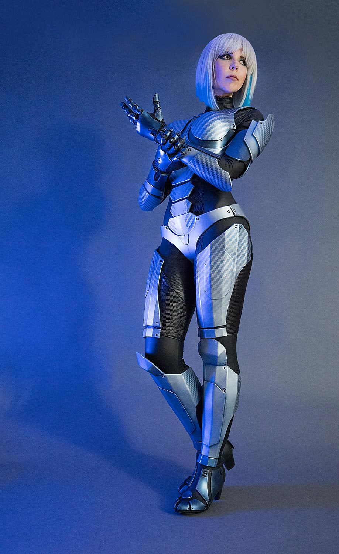 Medion Erazer Girl Costume Commission
