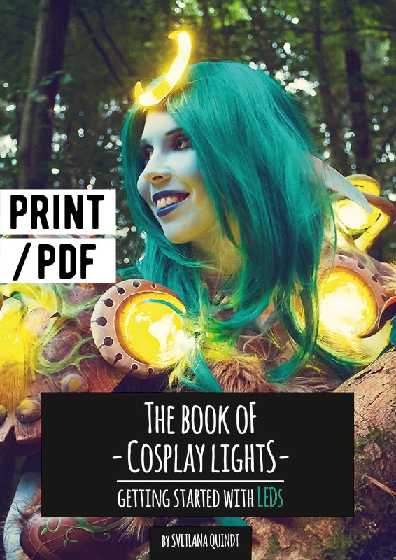 The Book of Cosplay Lights - Getting Started with LEDs ...