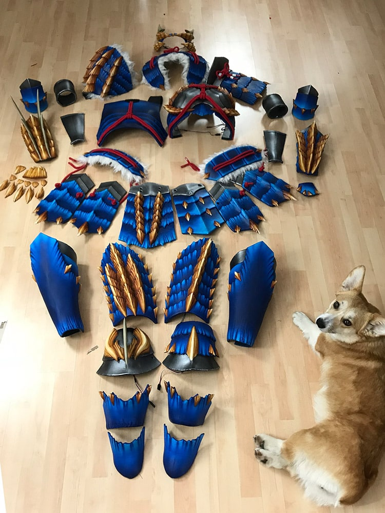 Zinogre Armor - Monster Hunter Costume