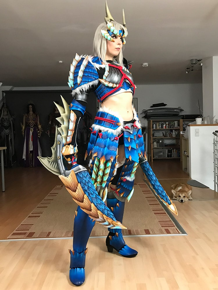 Zinogre Armor - Monster Hunter Cosplay