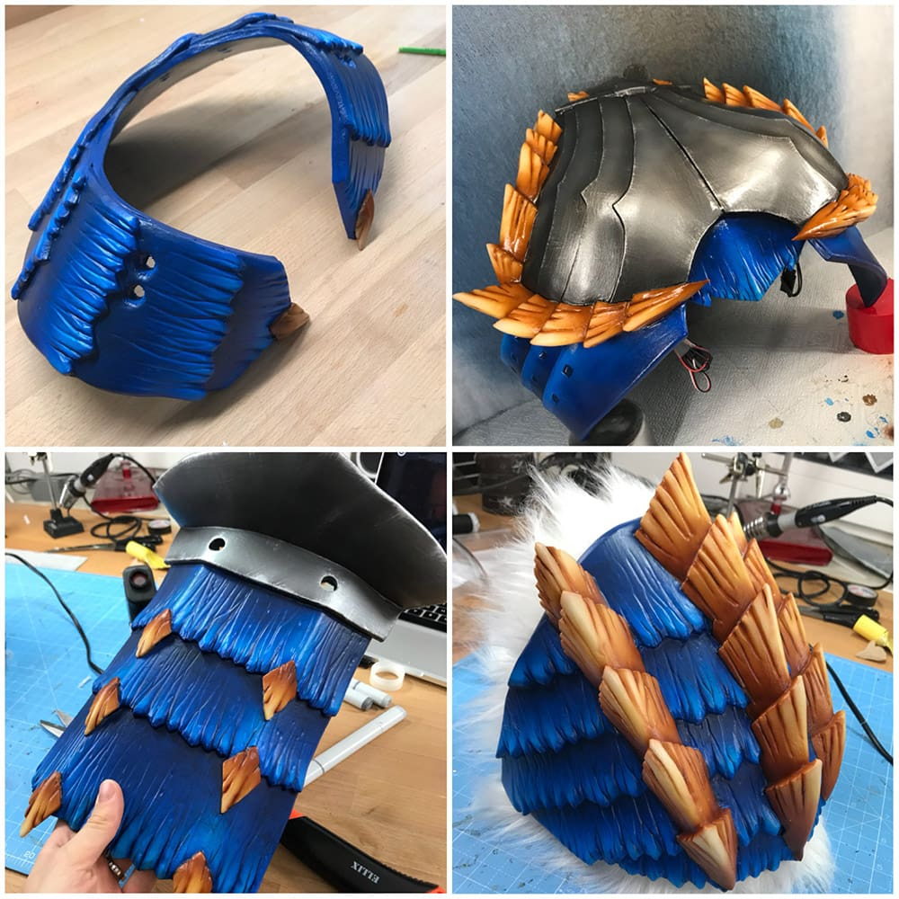 Zinogre Armor - Monster Hunter Cosplay Progress