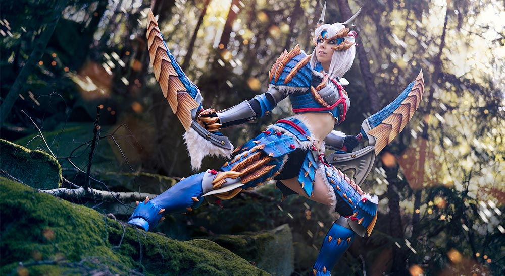Zinogre Armor – Monster Hunter