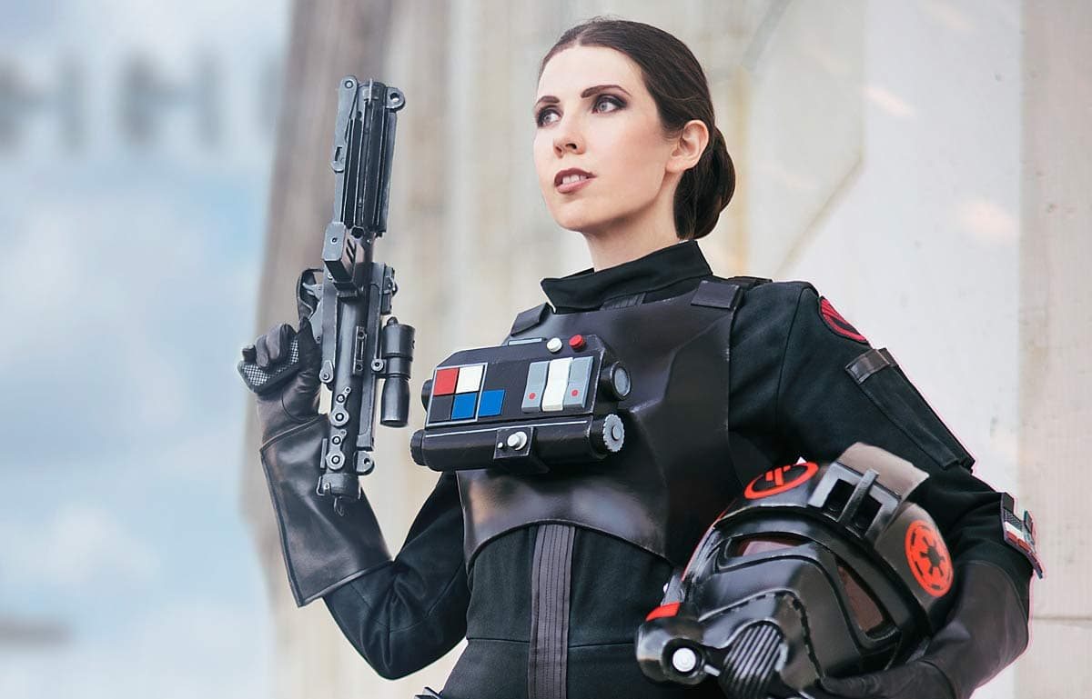 Kamui Cosplay Star Wars Iden Versio