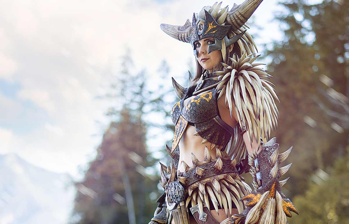 Kamui Cosplay Monster Hunter Nergigante