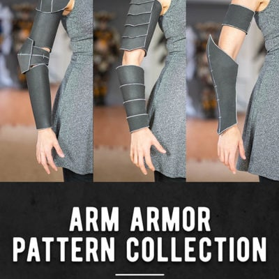 01_Arms_Armor_Pattern_Collection_Kamui_Cosplay_Bracers