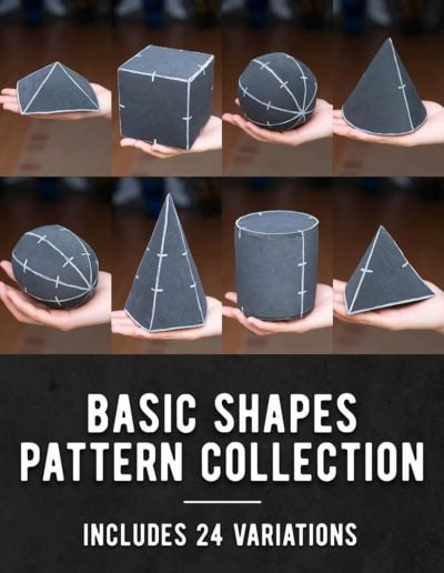 000_Basic_Shapes_Pattern_Collection_by_Kamui