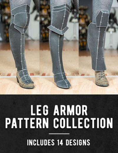 01_Leg_Armor_Pattern_Collection_by_Kamui_Cosplay