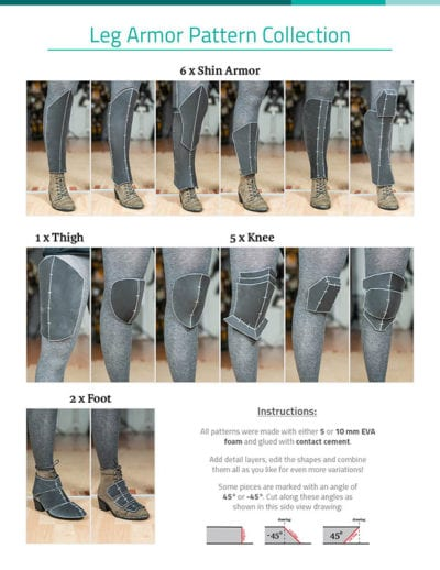 02_Leg_Armor_Pattern_Collection_by_Kamui_Cosplay