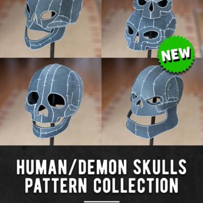 001_Human_Demon_Skulls_Pattern_Collection_by_Kamui