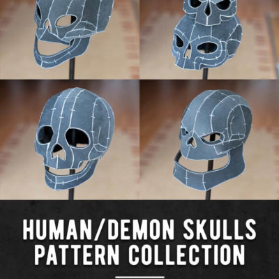 002_Human_Demon_Skulls_Pattern_Collection_by_Kamui