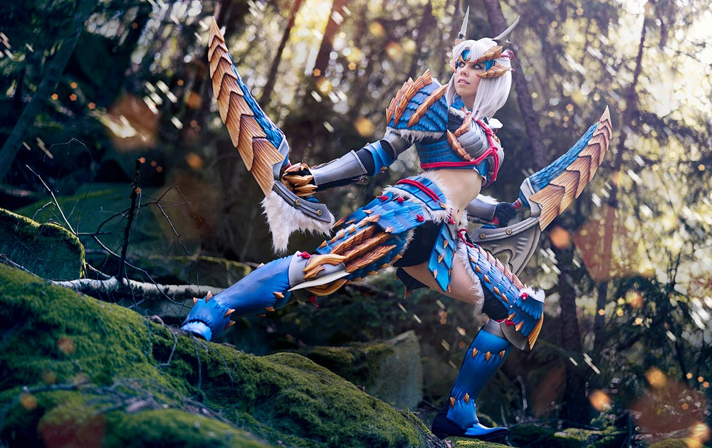 Kamui Cosplay Monster Hunter Zinogre