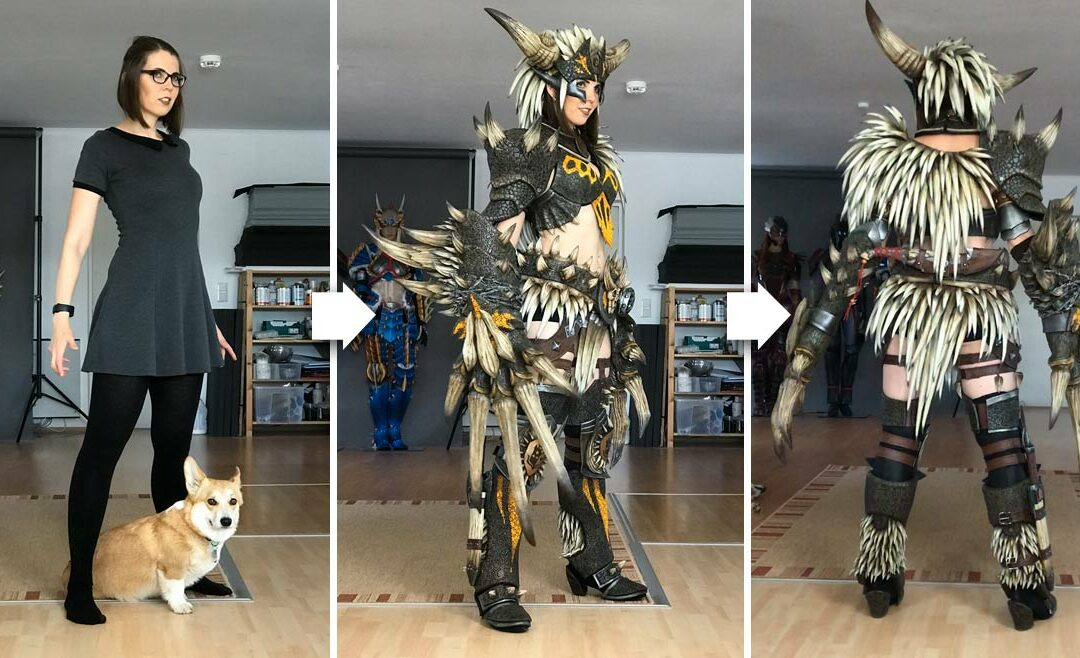 Nergigante Armor – Monster Hunter