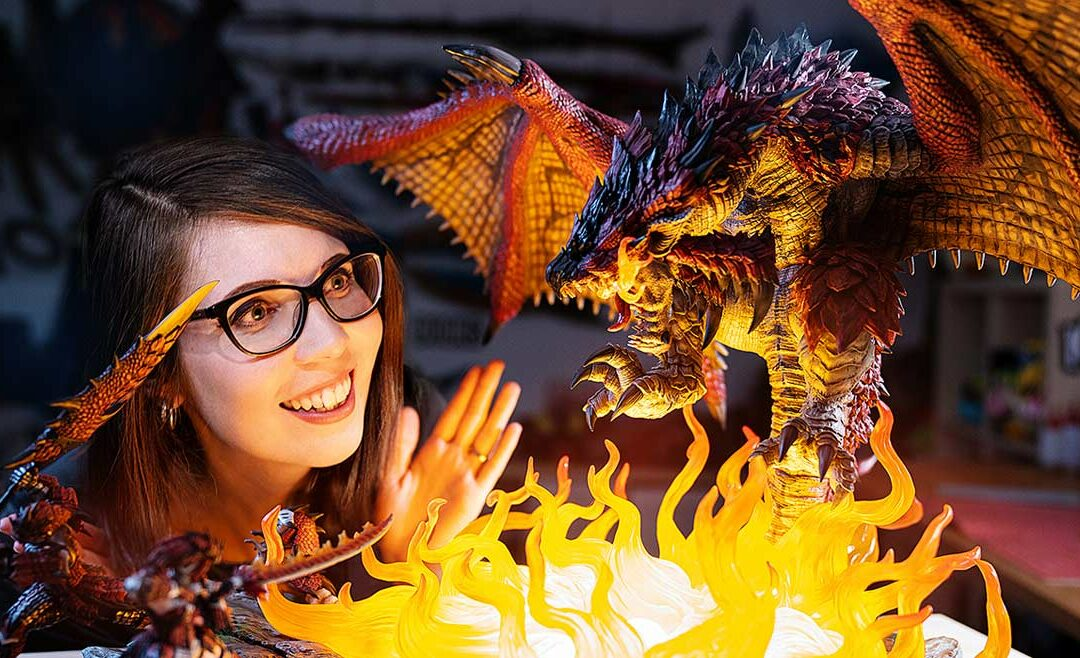 Unboxing an INSANE Monster Hunter statue!